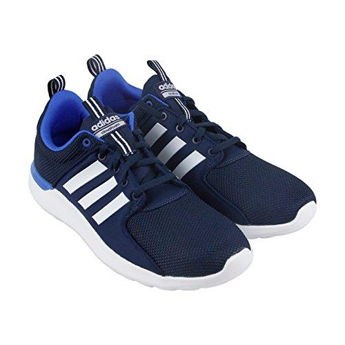 adidas Women's Energy Cloud V Running Shoe, Navy/White/Blue
