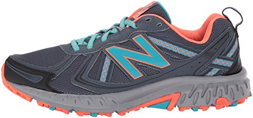 New Balance Women's WT410v5 Cushioning Trail Running Shoe, Dark Grey, 7.5 B US by New Balance (Image #5)