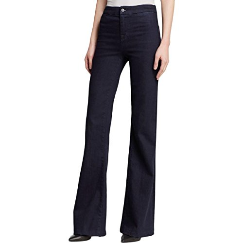 J Brand Womens Tailored High Rise Flare Jeans  Inkwell  26