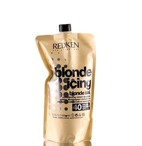 Redken Blonde Idol Conditioner Cream Developer - Volume 40 / - Redken Blonde Icing