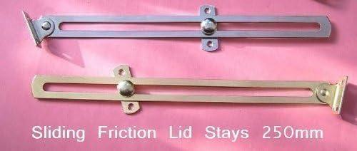 direct-fittingsuk.com 1 – 4 fricción Tapa Estancia, Manta/Caja de Juguetes, casetón, Puertas de Armario. LATÓN/Cromo, Chrome Plated, Pack de 4: Amazon.es: Hogar