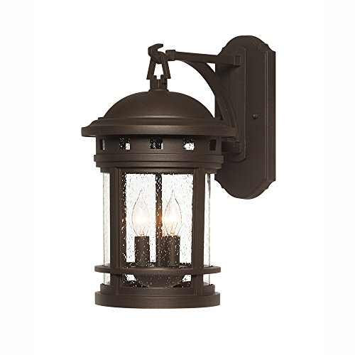 Designers Fountain 2381-ORB Sedona Wall Lanterns, Oil Rubbed Bronze by Designers Fountain