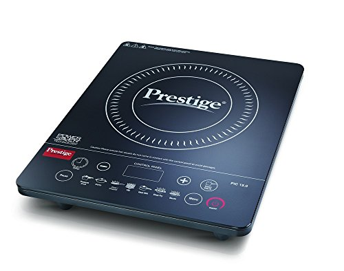Prestige PIC 15.0+ 1900-Watt Induction Cooktop (Black)