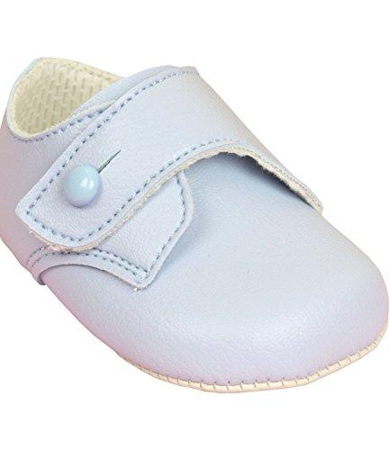 BabyPrem Bebé Zapatos Cochecito Clásico Ropa Niños 0-18 Meses EUR 16-19 AZUL