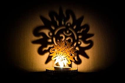 Buy A To Z Traders, Shadow OM Tealight Candle Holder Home