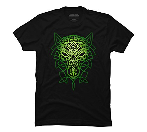 Celtic Wolf Mens Graphic Shirt product image