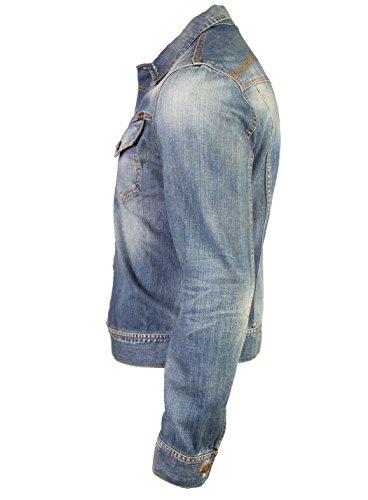 Nudie Jeans Conny Original Bright Broken Denim Jacket (2XL)