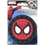 Marvel Spiderman Heavy Duty Rubber Auto Cup Coaster 2 pc