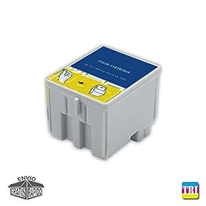Cartucho DE Tinta Tricolor Compatible N26 T para Impresora LEXMARK ...