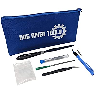 Dog River Tools 3D Printing Tool Kit - Print Removal, Nozzle Cleaning, Cean up, Finishing and Maintenance