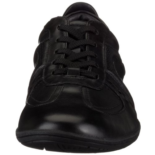 uomo basse 20339055 Spring Scarpe Clarks Flux Leather Black Nero wqa1ff