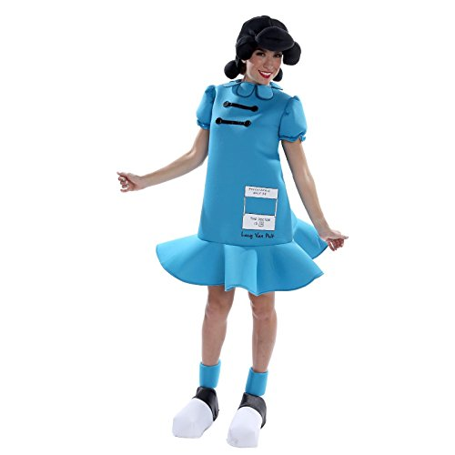 Lucy Peanuts Halloween Costumes (Peanuts: Lucy Deluxe Adult Costume)