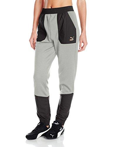 puma-womens-evo-embossed-utility-pants-light-gray-heather-medium