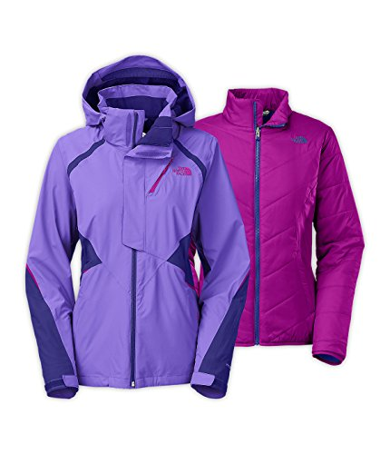 - The North Face Kira Triclimate Jacket Womens Small Starry Purple