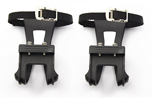 Leadrise®1 Pair Nylon Cycling MTB Road Mountain Bike Bicycle Pedal Toe Clip Strap Belts by Leadrise (Image #5)