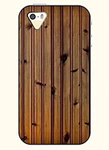 OOFIT Phone Case Design with Plank Pattern for Apple iPhone 5 5s 5g