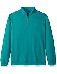 Izod Mens Big-Tall Big and Tall Advantage Performance 1/4 Zip Pullover Fleece