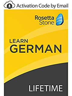 Rosetta Stone: Learn German with Lifetime Access on iOS, Android, PC, and Mac [Activation Code by Email] (B07GJP2K54) | Amazon price tracker / tracking, Amazon price history charts, Amazon price watches, Amazon price drop alerts