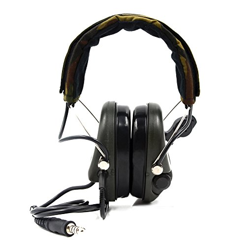 Impact Sport Sound Amplification Electronic Earmuff, Classic Green by Dolphin (Image #2)
