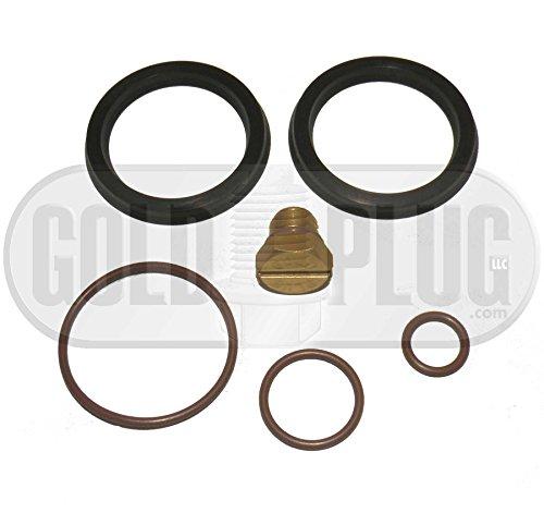 Primer Fuel Filter Seal Rebuild Kit and Bleeder Screw for 2001-2010 GM Duramax Fuel Filter Housing (Housing Seal)