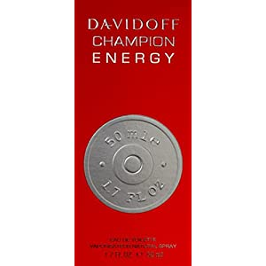 Davidoff Champion Energy Men Eau De Toilette Spray, 1.7 Ounce