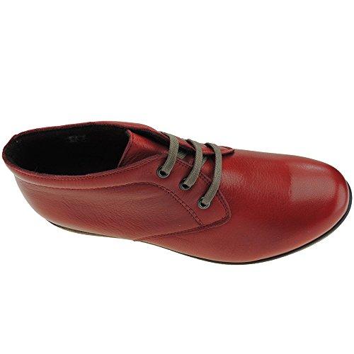 Romero Eu Red Boots 38 Red Women's Calzados n0xdqwOT0
