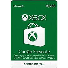 Cartão Presente Microsoft Xbox R$200 Brasil