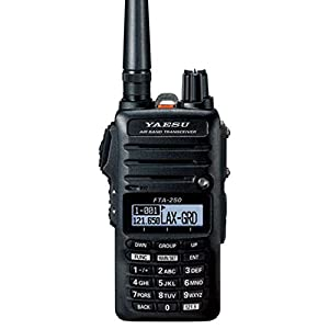 Yaesu FTA-250L Handheld VHF Airband Transceiver (Comm only) by Yaesu