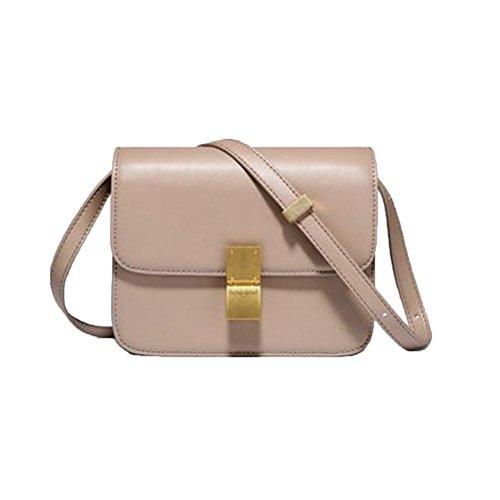pack Di Personalità Mini Elegante Tendenza Tofu Spalla Laterale Moda Retrò Un'unica Bag 100 Messenger a Borsa B Squisita dwqHdWpI