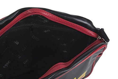 Strap Black Folder Shoulder With F672t Bag Woman Messenger Gola Man qnw4fZxF