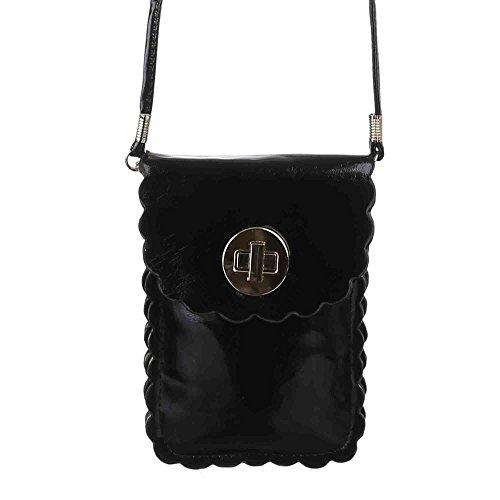 Ital-DesignSchultertasche bei Ital-Design - Bolso de hombro Mujer Negro - negro