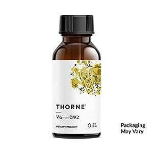 Vitamin D/K2 (1oz - 30ml) - Thorne