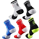 7. Compressprint Unisex Breathable Sport Socks Men's Cycling and Running Compression Socks Sizes 6-11 (Mixed Color)