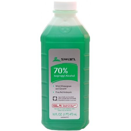 70% Isopropyl Rubbing Alcohol Wintergreen 16 fl oz Topical Antiseptic