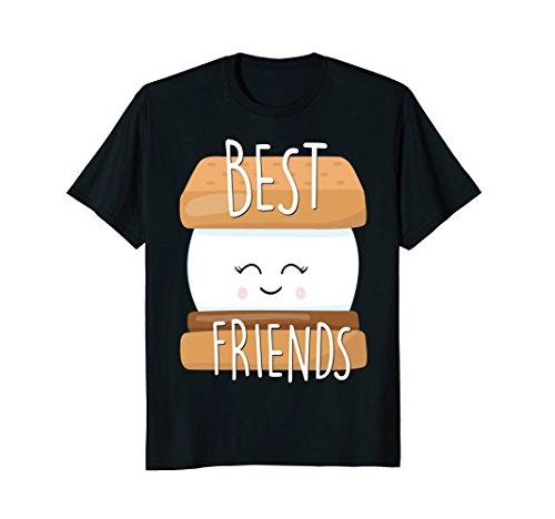 S'Mores Cute Matching Best Friend Shirt Bestie BFF Kids]()