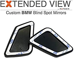 Blind Spot Mirrors Compatible with BMW 4 Series F33 Extended View
