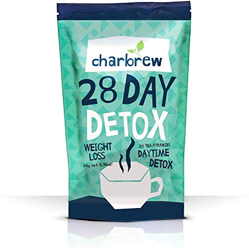 Charbrew Day Time Teatox 28 Days Weight Loss Tea NO Laxative Effect