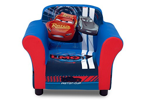 (Delta Children Upholstered Chair, Disney/Pixar Cars)