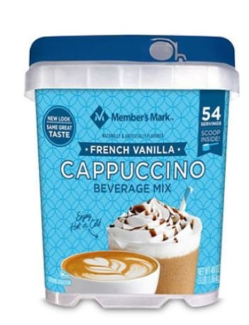 Daily Chef French Vanilla Cappuccino Beverage Mix (48 - Drink Cappuccino