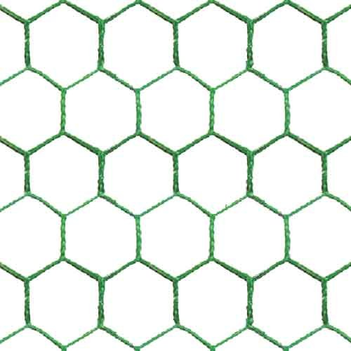 25m long 91cm tall Green PVC Coated Galvanised Green Wire Mesh Chicken Rabbit Fencing SpeedwellStar FNMP25109