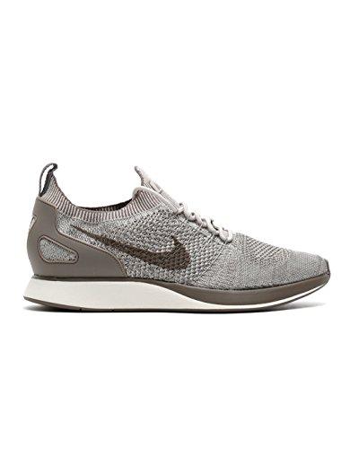 Nike Mens Air Zoom Mariah Flyknit Racer Running Running Shoes Gray 9 Medium (D) (Nike Zoom Flyknit Women)