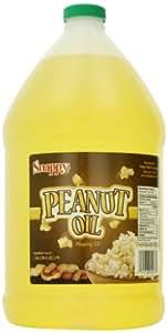 Snappy Popcorn 1 Gallon Snappy Pure Peanut Oil No Color Added, 128 Fl Oz
