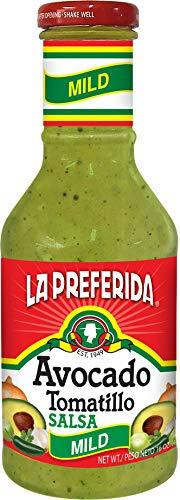 La Preferida Avocado Tomatillo Salsa, Mild, 16 OZ (Pack - 1)