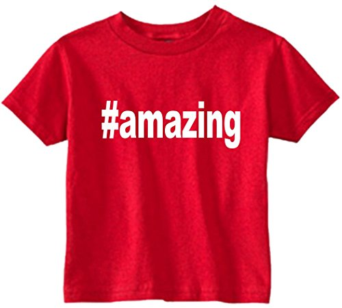Amazing Tee (Funny Baby T-Shirt Size 2T (#amazing (Hashtag Tee Shirt)) Toddler Tee Shirt)