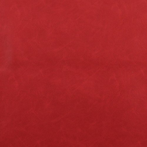 [G562 Red Upholstery Grade Recycled Leather (Bonded Leather) By The Yard] (Recycled Material Costume)