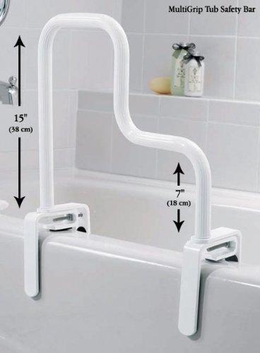 Moen DN7005 Home Care Multi Grip Tub Safety Bar, Glacier Color: Glacier, Model: DN7005, Outdoor & Hardware Store