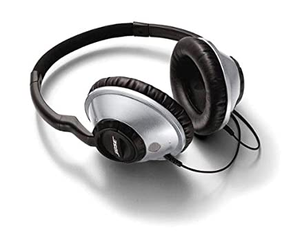 de6d5bed6b4 Amazon.com: Bose Around Ear Headphones Silver: Home Audio & Theater