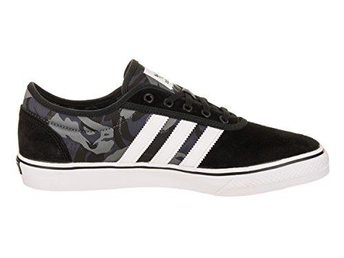 Adidas Mens Adiease X Mhak Skate Skor Kärna Svart / Springer Vit / Gum4 D (m) Oss Kärna Svart / Skodon Vit / Gummi 4