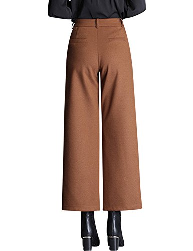 Tanming-Womens-Thick-Wool-Blend-Cropped-Wide-Leg-Pant-Trousers