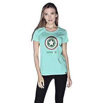 Creo Captain Uae T-Shirt For Women - M, Green